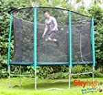 8ft x 14ft Skyhigh Oval Trampoline wi...