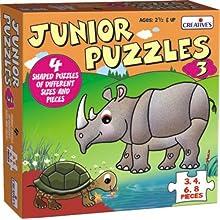 Creative Educational Aids 0768 Junior Puzzles - 3