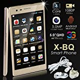 Bositools Unlocked 5.0 Inch Quad Core Android 4.2.2 Mobile Cell Phone
