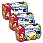 B�b� Nestl� Naturnes Pomme Abricot -...