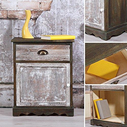 sideboard dunkel wie antik aus holz kommode wandschrank highboard anrichte m belrado. Black Bedroom Furniture Sets. Home Design Ideas