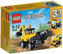 Comprar Lego 31041 LEGO Creator - Set Vehículos de construcción, multicolor (31041)