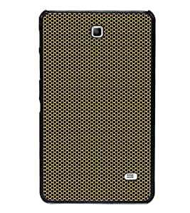 ifasho Designer Phone Back Case Cover Samsung Galaxy Tab 4 (7.0 Inches) T230 T231 T235 LTE ( Green Grey Pattern Design )