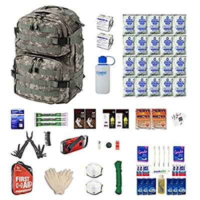 Urban Survival Kit Two For Earthquakes, Hurricanes, Floods, Tornados, Emergency Preparedness