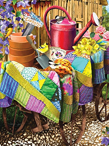 Gardening Birds 1000 Piece Jigsaw Puzzle by Sunsout Inc.