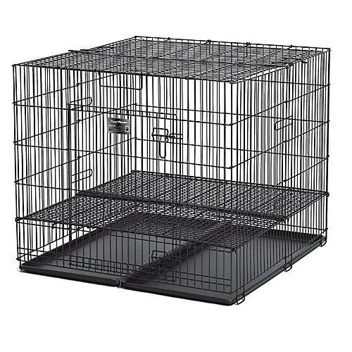 "Midwest Puppy Playpen W/ 1/2"" Grid 48L X 48W X 30H front-64608"
