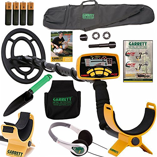 Garrett Ace 250 Metal Detector with Headphones, DVD, Digging Trowel, Finds Pouch and Carry Bag Reviews