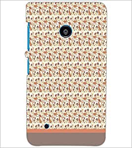 PrintDhaba Pattern D-1774 Back Case Cover for NOKIA LUMIA 530 (Multi-Coloured)