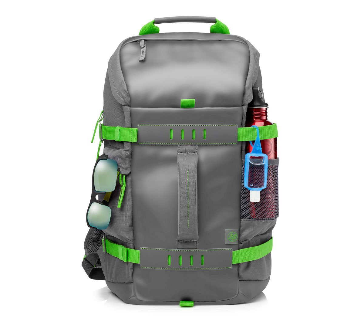 School bags online cash on delivery - Hp Odyssey Backpack For 15 6 Inch Laptop Grey Green