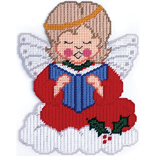 Design Works Plastic Canvas Kit Wall Decor - Christmas Angel