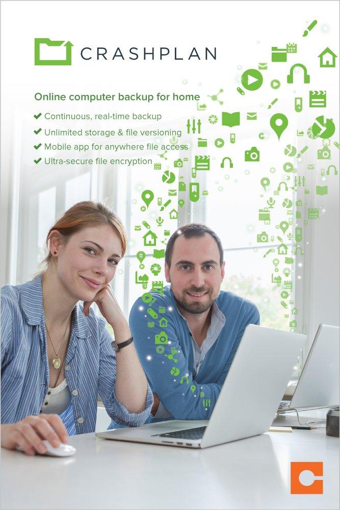 CrashPlan for Home - Unlimited Backup - Free Version - 64 Bit (Download)