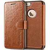iPhone 6S Plus Case, Verus [Layered Dandy][Brown] - [Card Slot][Flip][Slim Fit][Wallet] - For Apple iPhone 6 Plus and iPhone 6S Plus 5.5