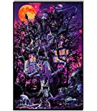 Opticz Treehouse Blacklight Reactive Poster