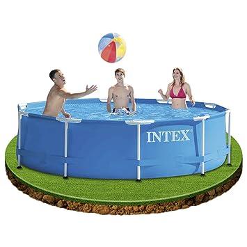 Intex 0775227 piscine piscine structure m tallique for Intex piscine le miroir