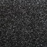 ANTHRACITE THICK WALL VAN CAR CAMPER BOAT BOOT ACOUSTIC VELOUR LINING TRUNKLINER CARPET
