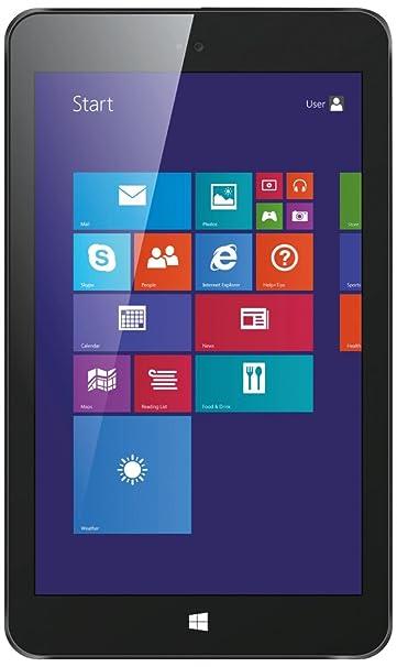 Colorovo CityTab Supreme 20,3 cm (8'') Tablette Tactile (Intel Atom Z3735E, 1,8GHz, 1Go RAM, 16Go HDD, Win 8, Ecran tactile) Noir (Import Europe)