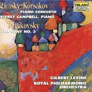 Rimsky-Korsakov : Concerto for Piano and Orchestra Op.30 / Tchaikovsky: Symphony No.3 (Telarc)