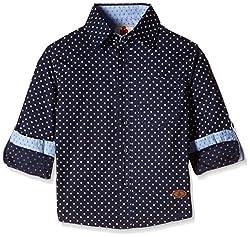 UFO Boys' Shirt (AW16-WF-BKT-522_Navy_10 - 11 years)