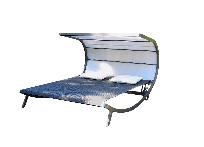 LECO 39220103 Davana Sonnenliege Aluminium, schwarz günstig online kaufen