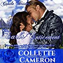 The Earl's Enticement: Castle Bride Series, Book 3 Audiobook by Collette Cameron Narrated by Stevie Zimmerman