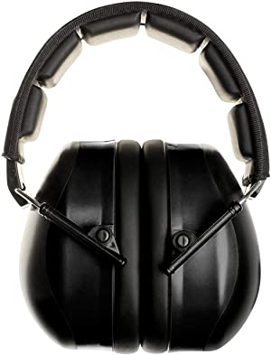 FSL Decimate Earmuffs 34dB NRR Protection - Professional Ear Defenders for Shooting - 3 Year Warranty (Black) (Color: Black, Tamaño: 1 Unit Pack)