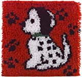 Wonderart Latch Hook Kit 12X12 Dalmation