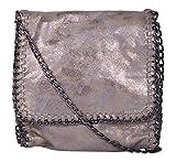 Zoe bags Women's Sling Bag (Metallic)