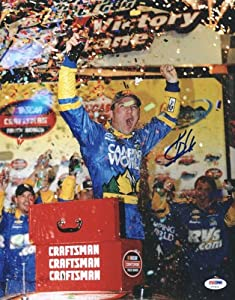 KEVIN HARVICK NASCAR SIGNED AUTHENTIC 11X14 PHOTO AUTOGRAPHED CERTIFICATE OF... by Press Pass Collectibles