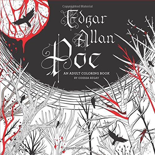 Edgar Allan Poe: An Adult Coloring Book