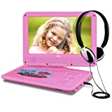 THZY Kids Portable DVD Player, Pink