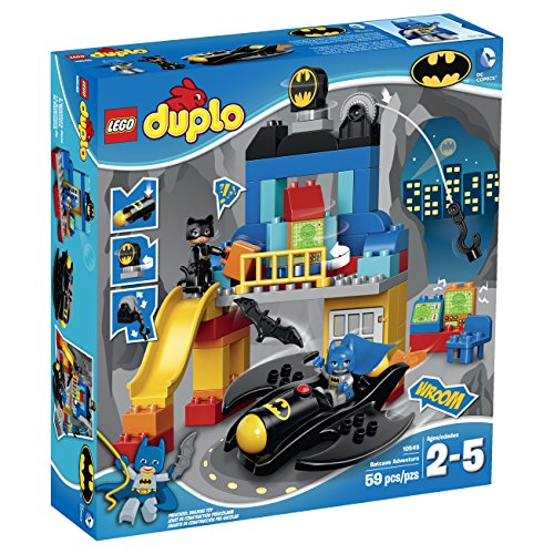 LEGO DUPLO Super Heroes Batcave Adventure 10545 Building Toy (Build An 8 Bit Computer compare prices)