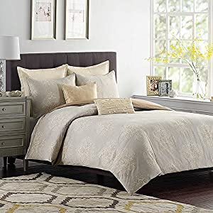 230TC Oversize 100% Cotton Luxury Aura Medallion Duvet Cover set (Twin)