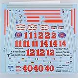 【TABU DESIGN/タブデザイン】1/20 マクラーレン M23 1976-77 フルスポンサーデカール