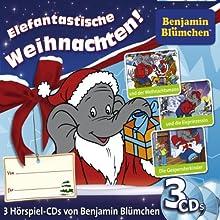 Benjamin Blümchen Weihnachts-Box Hörspiel von Thomas Platt, Ulli Herzog, Klaus-Peter Weigand Gesprochen von: Ulli Herzog, Klaus-Peter Weigand, Elfie Donnelly
