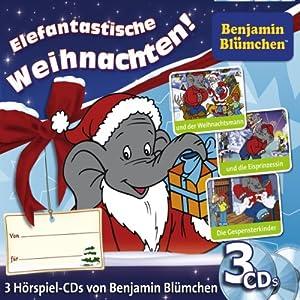 Benjamin Blümchen Weihnachts-Box Hörspiel