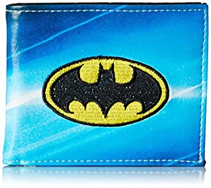 Batman Men's All Over Sublimation Print Bi-Fold Wallet at Gotham City Store