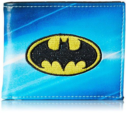 Batman Men's All Over Sublimation Print Bi-Fold Wallet at Gotham City Store