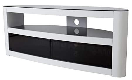 AVF Burghley FS1250 White TV Stand