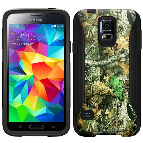 Otterbox Commuter Case for Samsung Galaxy S5 - Camo Hunter Leaf