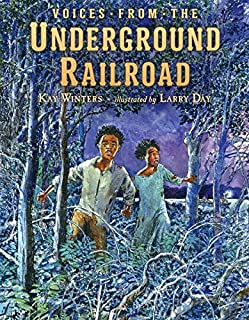 Book Cover: Voices from the Underground Railroad
