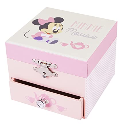 Trousselier - Minnie Baby - Disney - Petit Coffret Musical