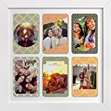 ArtzFolio Pattern Colour - Small Size 12.0 Inch X 12.0 Inch - FRAMED PERSONALIZED & CUSTOMIZED PHOTO COLLAGES... - B01ERZLCCI