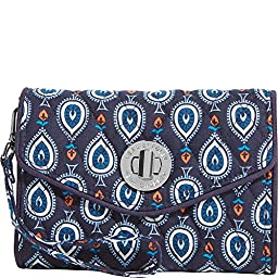 Vera Bradley Women\'s Your Turn Smartphone Wristlet Marrakesh Motifs Clutch