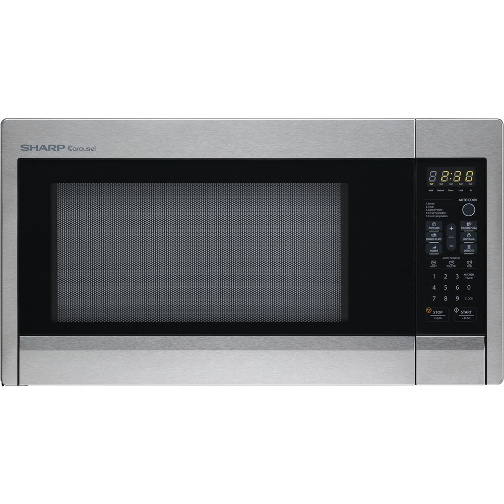 Danby 1.3 cu ft 1000w touch microwave;12 7/8 Turntable; Stainless R-431ZS at Sears.com