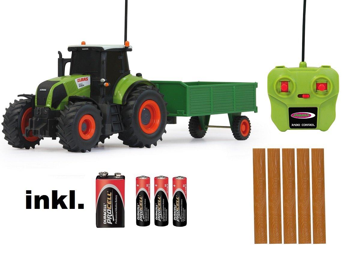 RC ferngesteuerter Traktor Claas Axion 850 mit Anhänger 1:28 – RTR – inkl. Batterien jetzt kaufen