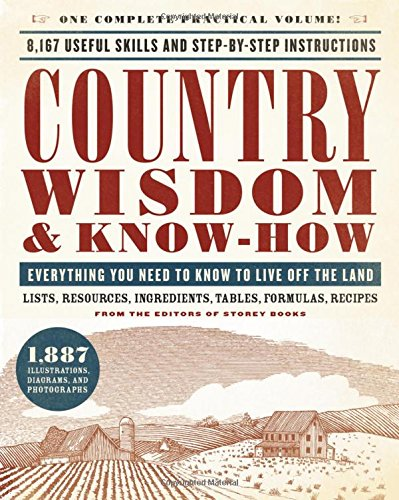 Book Cover: Country Wisdom & Know-How: Everything You Need to Know to Live Off the Land