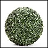 21 Inch Diameter Artificial Boxwood Sphere, Outdoor Rated