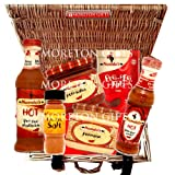 Nando's Lovers Hot Luxury Hamper - Sauce, Marinade, Rub, Perinasise, Peri-Salsa & Peri-Peri Salt - By Moreton Gifts - Great Gift