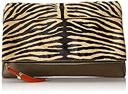 Vince Camuto Val Clutch, Truffle/Nude, One Size