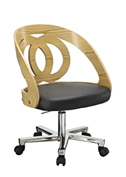 PC600 Office Mid-Back Chair Finish: Oak